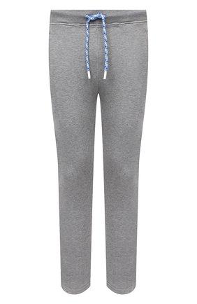 Мужские хлопковые брюки JACOB COHEN серого цвета, арт. J6177 02411-L/55 | Фото 1 (Материал внешний: Хлопок; Длина (брюки, джинсы): Стандартные; Случай: Повседневный; Мужское Кросс-КТ: Брюки-трикотаж; Стили: Спорт-шик)