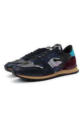 Мужские комбинированные кроссовки rockrunner VALENTINO разноцветного цвета, арт. VY0S0723/TCC | Фото 1 (Материал внешний: Текстиль; Материал внутренний: Текстиль; Подошва: Массивная; Стили: Гранж)