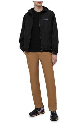Мужские комбинированные кроссовки rockrunner VALENTINO разноцветного цвета, арт. VY0S0723/TCC | Фото 2 (Материал внешний: Текстиль; Материал внутренний: Текстиль; Подошва: Массивная; Стили: Гранж)