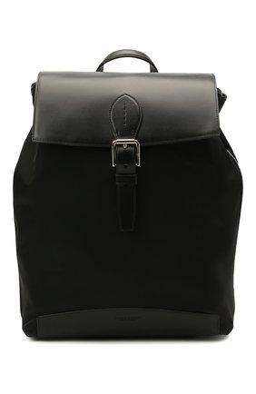 Мужской комбинированный рюкзак RALPH LAUREN черного цвета, арт. 437831106 | Фото 1