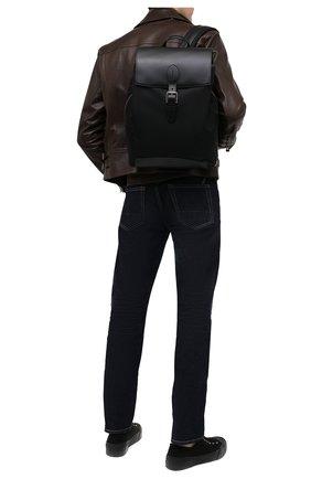 Мужской комбинированный рюкзак RALPH LAUREN черного цвета, арт. 437831106 | Фото 2