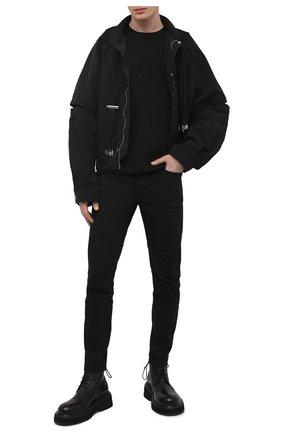 Мужские джинсы KAZUYUKI KUMAGAI черного цвета, арт. AP11-201   Фото 2