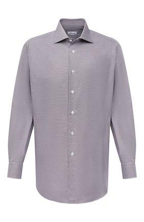 Мужская хлопковая сорочка BRIONI бордового цвета, арт. RCA10L/P006M | Фото 1