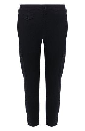 Мужские хлопковые брюки-карго DOLCE & GABBANA синего цвета, арт. GYA8ET/G8BQ2 | Фото 1