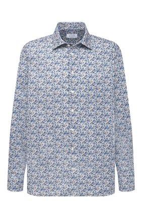 Мужская хлопковая рубашка ETON синего цвета, арт. 1000 02212 | Фото 1