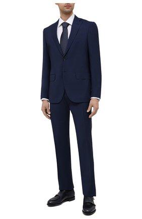 Мужской шерстяной костюм LUCIANO BARBERA темно-синего цвета, арт. 5R2014/25021 | Фото 1