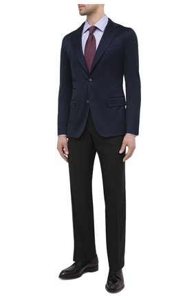 Мужской хлопковый пиджак ELEVENTY темно-синего цвета, арт. C75GIAC13 TES0C079 | Фото 2