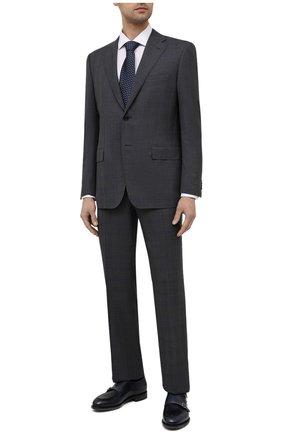 Мужской шерстяной костюм CORNELIANI темно-серого цвета, арт. 877315-1117220/92 Q1 | Фото 1