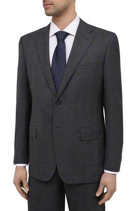 Мужской шерстяной костюм CORNELIANI темно-серого цвета, арт. 877315-1117220/92 Q1   Фото 2