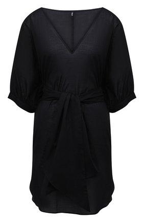Женская хлопковая туника AUBADE черного цвета, арт. TZ69   Фото 1