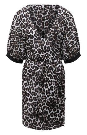 Женская хлопковая туника AUBADE леопардового цвета, арт. TZ69 | Фото 1