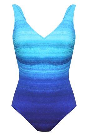 Женский слитный купальник GOTTEX голубого цвета, арт. 21TW151 | Фото 1