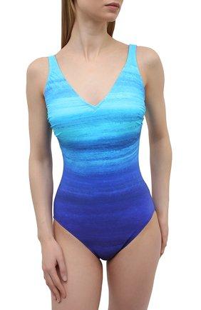 Женский слитный купальник GOTTEX голубого цвета, арт. 21TW151 | Фото 2