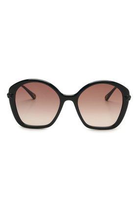 Женские солнцезащитные очки CHLOÉ темно-синего цвета, арт. CH0003S   Фото 3