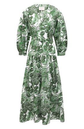 Женское хлопковое платье TAK.ORI зеленого цвета, арт. DRT82022C0100SS21 | Фото 1