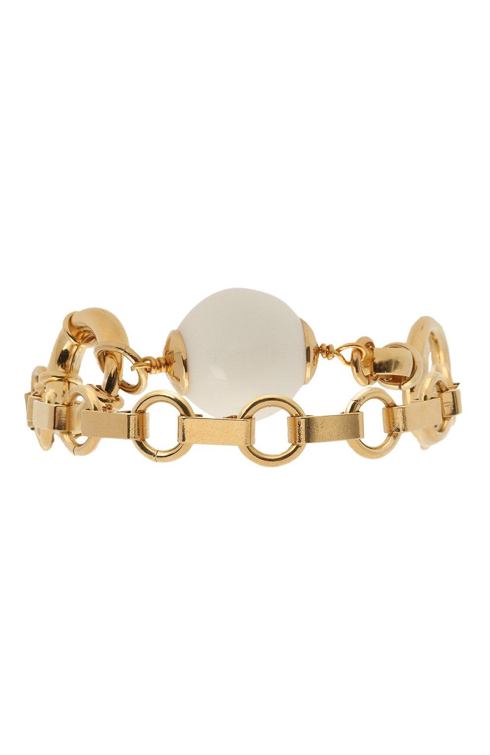 Женский браслет MAISON VIOLETTE золотого цвета, арт. BR 5000 | Фото 2 (Материал: Металл)