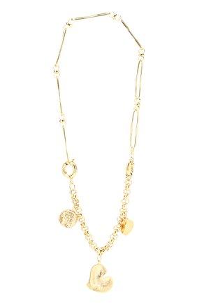 Женское колье MAISON VIOLETTE золотого цвета, арт. JINK0   Фото 1