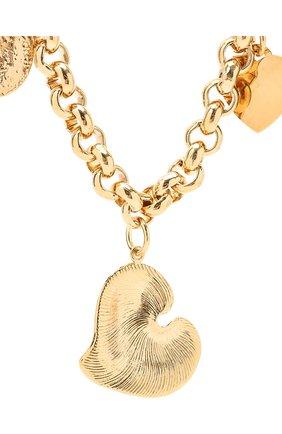 Женское колье MAISON VIOLETTE золотого цвета, арт. JINK0   Фото 2