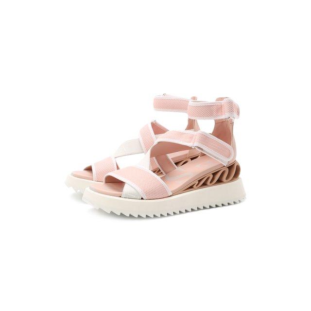 Текстильные сандалии Le Silla