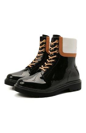 Женские ботинки SEE BY CHLOÉ черного цвета, арт. SB36161A/13270 | Фото 1