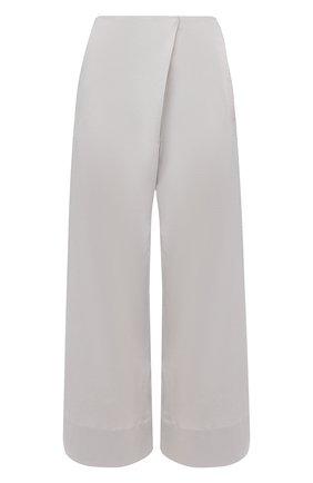 Женские льняные брюки TELA серого цвета, арт. 14 0001 01 9971 | Фото 1