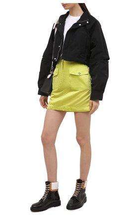 Женская ветровка AMBUSH черного цвета, арт. BWEA005S21FAB001   Фото 2