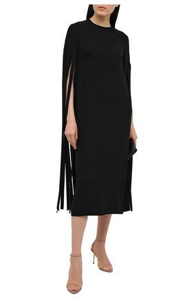 Женские кожаные босоножки padlock TOM FORD бежевого цвета, арт. W2748T-LKD002 | Фото 2