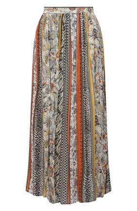 Женская юбка из вискозы ERMANNO FIRENZE разноцветного цвета, арт. D38ET GN17GFE | Фото 1