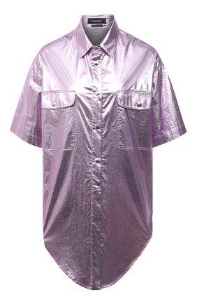 Женская хлопковая рубашка ISABEL MARANT сиреневого цвета, арт. CH0737-21E014I/GILIGGY | Фото 1