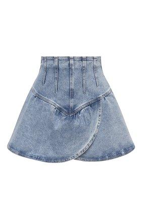 Женская джинсовая юбка ISABEL MARANT голубого цвета, арт. JU1283-21E019I/DIMENIA | Фото 1