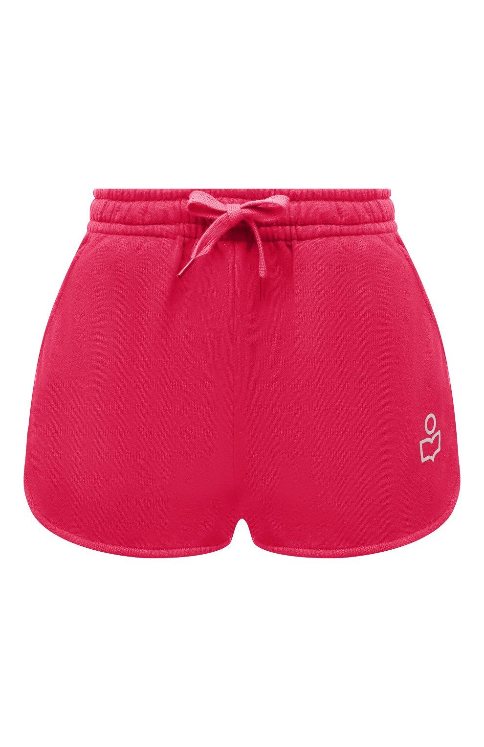 Женские хлопковые шорты ISABEL MARANT фуксия цвета, арт. SH0404-21E006W/MIFIKIA | Фото 1
