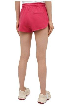Женские хлопковые шорты ISABEL MARANT фуксия цвета, арт. SH0404-21E006W/MIFIKIA | Фото 4