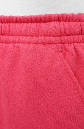 Женские хлопковые шорты ISABEL MARANT фуксия цвета, арт. SH0404-21E006W/MIFIKIA | Фото 5
