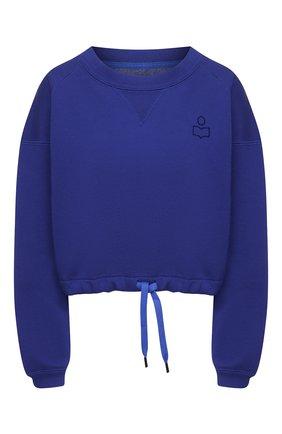 Женский хлопковый свитшот ISABEL MARANT синего цвета, арт. SW0298-21E006W/MARG0 | Фото 1