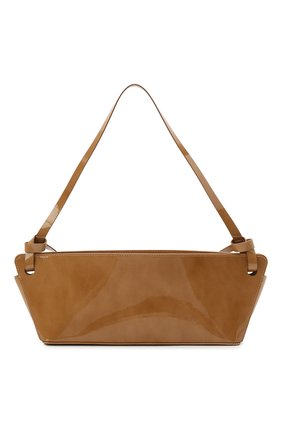 Женская сумка ramona REJINA PYO коричневого цвета, арт. IB52/PATENT LEATHER | Фото 1