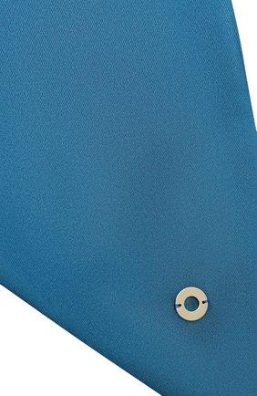 Женский шелковый платок LORO PIANA синего цвета, арт. FAL5509 | Фото 2