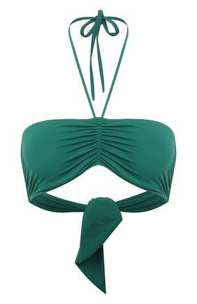 Женский бра-бандо DNUD PARIS зеленого цвета, арт. 1912 SG | Фото 1