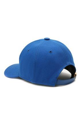 Женская хлопковая бейсболка TOM FORD синего цвета, арт. WH002T-TCN008 | Фото 2