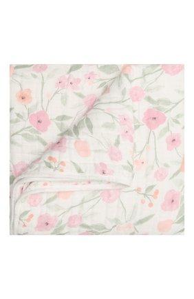 Детского хлопковое одеяло ADEN+ANAIS розового цвета, арт. ADBC10008 | Фото 1