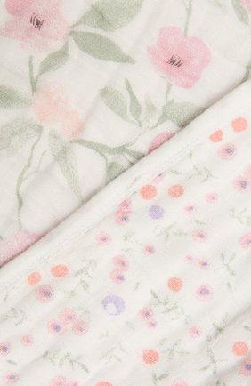 Детского хлопковое одеяло ADEN+ANAIS розового цвета, арт. ADBC10008 | Фото 2
