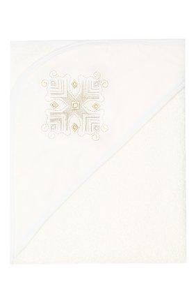 Детского крестильный набор селена CHEPE белого цвета, арт. 371276 | Фото 5