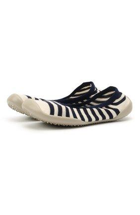 Детского домашние туфли COLLEGIEN белого цвета, арт. 6464/36-39 | Фото 1 (Материал внутренний: Текстиль; Материал внешний: Текстиль)