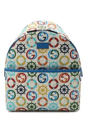 Детская рюкзак GUCCI разноцветного цвета, арт. 271327/2QEAN | Фото 1