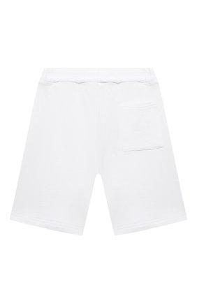 Детские хлопковые шорты PAOLO PECORA MILANO белого цвета, арт. PP2671/8A-12A   Фото 2