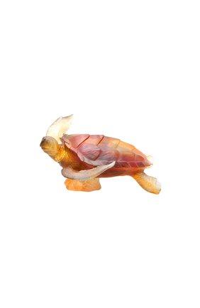 Скульптура морская черепаха DAUM коричневого цвета, арт. 05699 | Фото 1