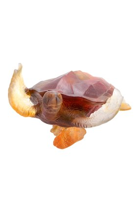 Скульптура морская черепаха DAUM коричневого цвета, арт. 05699 | Фото 2