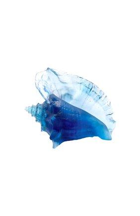 Скульптура ракушка DAUM голубого цвета, арт. 05710 | Фото 1