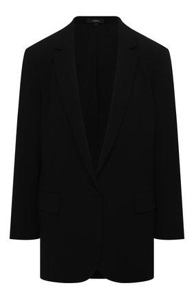 Женский жакет THEORY черного цвета, арт. L0109103 | Фото 1