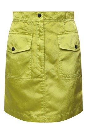 Женская юбка DRIES VAN NOTEN желтого цвета, арт. 211-10810-2171   Фото 1