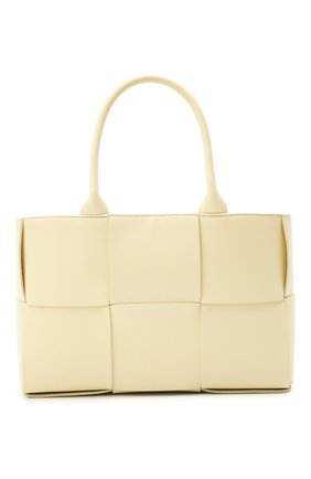 Женский сумка arco tote small BOTTEGA VENETA кремвого цвета, арт. 652867/VCQC2 | Фото 1